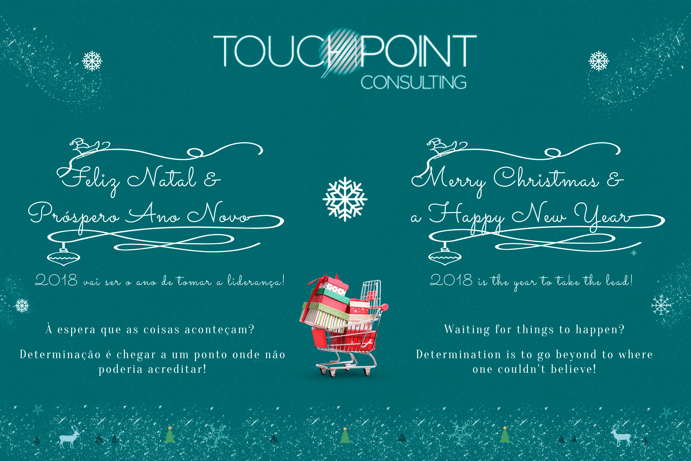 Boas Festas Touch Point Consulting